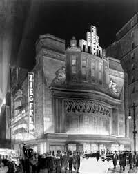 Film premiere at the Ziegfield Theater